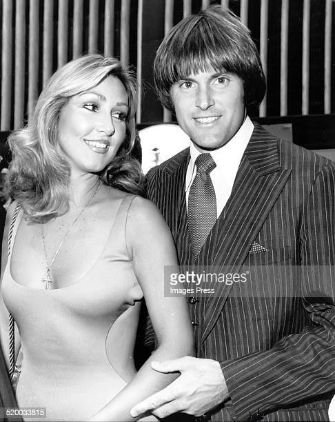 Bruce Jenner and Linda Thompson attends the Premiere Party for 'Can't Stop The Music' at Lincoln Center on June 19 1980 in New York City