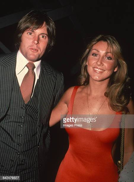 Bruce Jenner and Linda Thompson circa 1990 in New York City