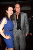 Bruce Jenner and Sarah Hughes attend Cantor Fitzgerald And BGC Partners Annual Charity Day at Cantor Fitzgerald on September 11 2013 in New York City
