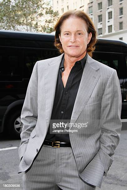 Bruce Jenner arrives at the Annual Charity Day Hosted By Cantor Fitzgerald And BGC at the Cantor Fitzgerald Office on September 11 2013 in New York...