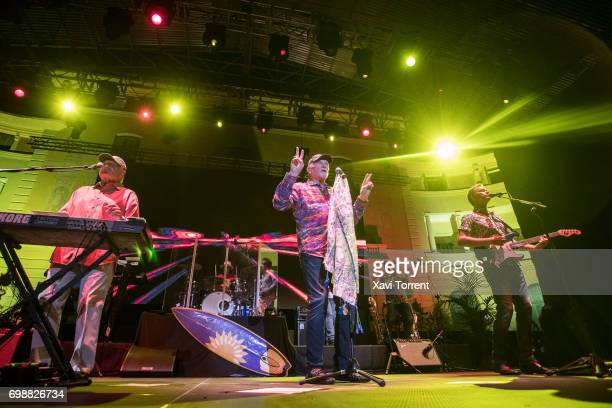 Bruce Johnston and Mike Love of The Beach Boys perform in concert during the Festival Jardins de Pedralbes on June 20 2017 in Barcelona Spain