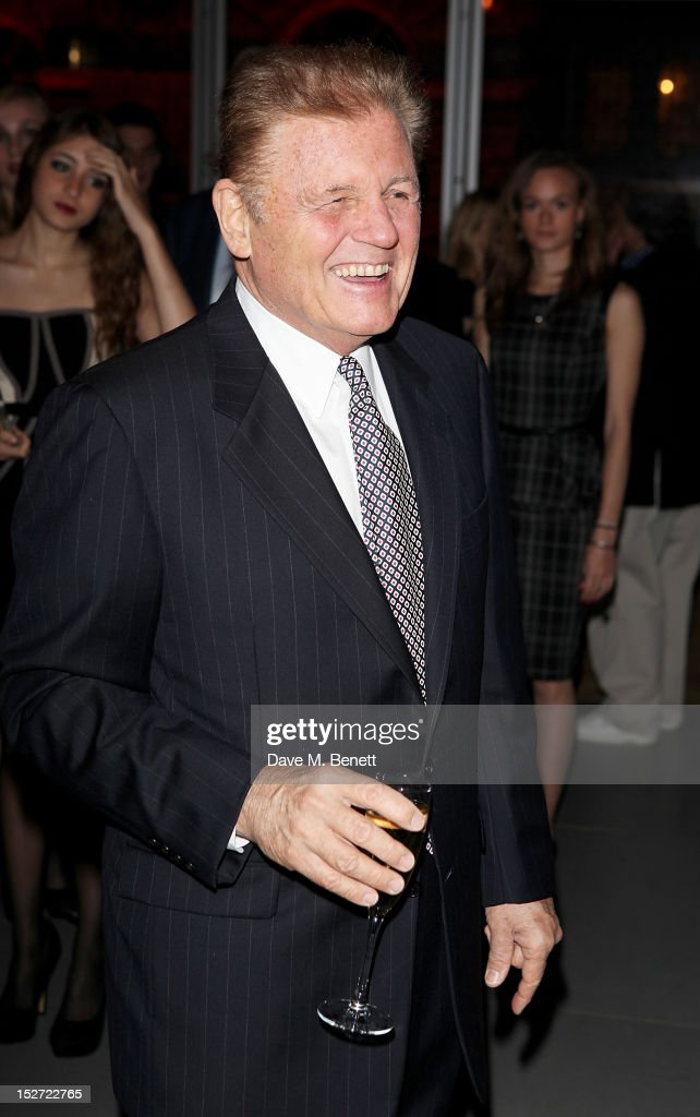 Bruce Johnston of The Beach Boys arrives at the EMI Music Sound Foundation fundraiser at Somerset House on September 24, 2012 in London, England.