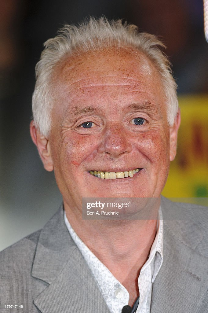 Bruce Jones is evicted from the Celebrity Big Brother house at Elstree Studios on September 6, 2013 in Borehamwood, England.