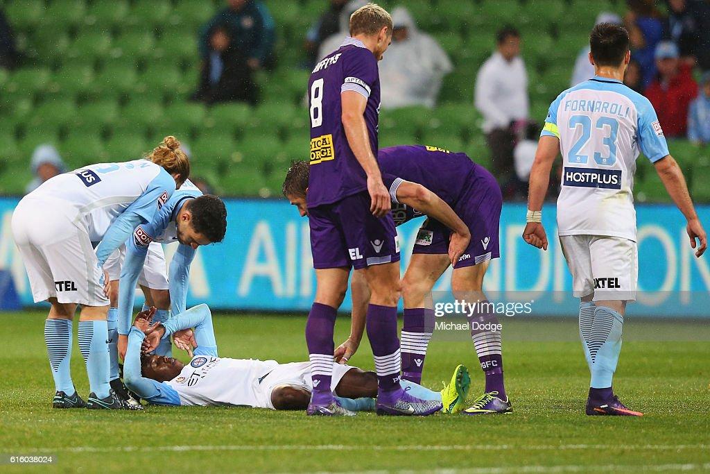 A-League Rd 3 - Melbourne City v Perth