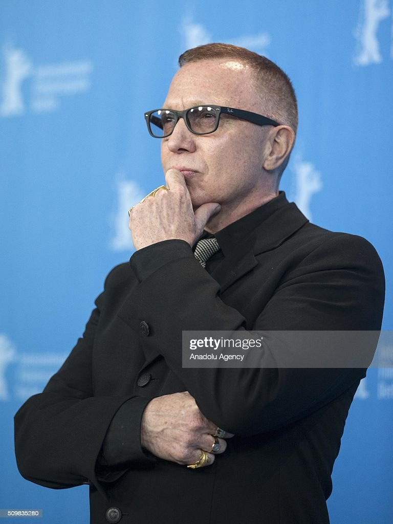 Bruce LaBruce attends the 'Boris without Beatrice' (Boris sans Beatrice) photo call during the 66th Berlinale International Film Festival Berlin at Grand Hyatt Hotel on February 12, 2016 in Berlin, Germany.