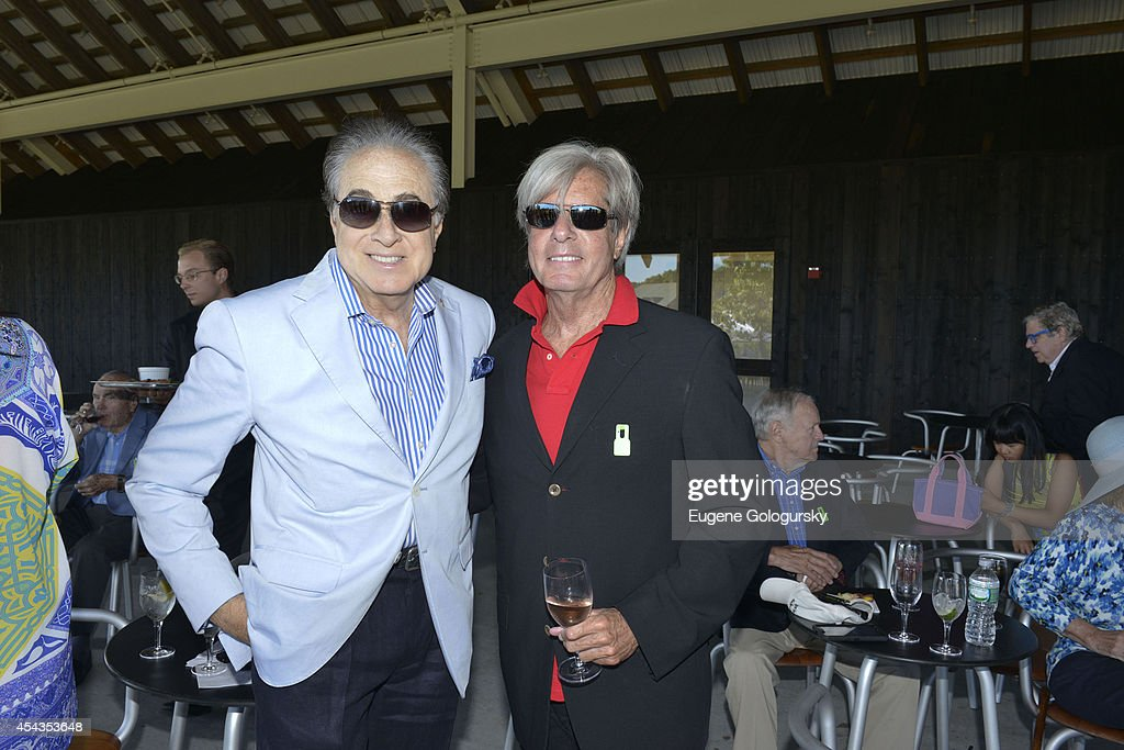 Bruce Lipnick and Jeffrey Marcus attend the Naming Celebration For Stewart F. Lane & Bonnie Comley Event Lawn at the Parrish Art Museum on August 29, 2014 in Water Mill, New York.