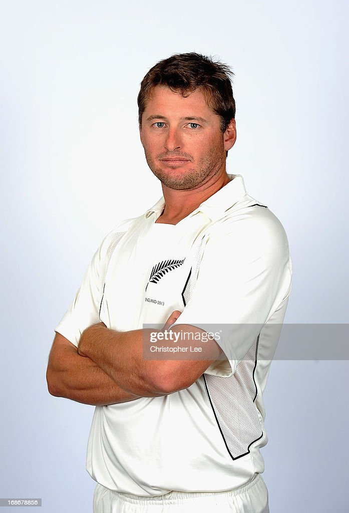 <a gi-track='captionPersonalityLinkClicked' href=/galleries/search?phrase=Bruce+Martin&family=editorial&specificpeople=226565 ng-click='$event.stopPropagation()'>Bruce Martin</a> poses for the camera during the New Zealand Cricket Headshots at Lords on May 13, 2013 in London, England.