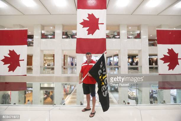 TORONTO ON JULY 26 Bruce Matthews is Team Canada Captain Matthews was a Corporal in the Cndian Army and the Royal Air Force he served in the military...