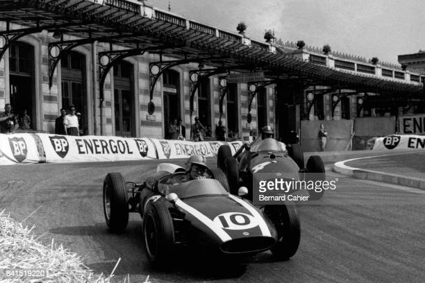 Bruce McLaren Dan Gurney CooperClimax T53 BRM P58 Grand Prix of Monaco Monaco 29 May 1960