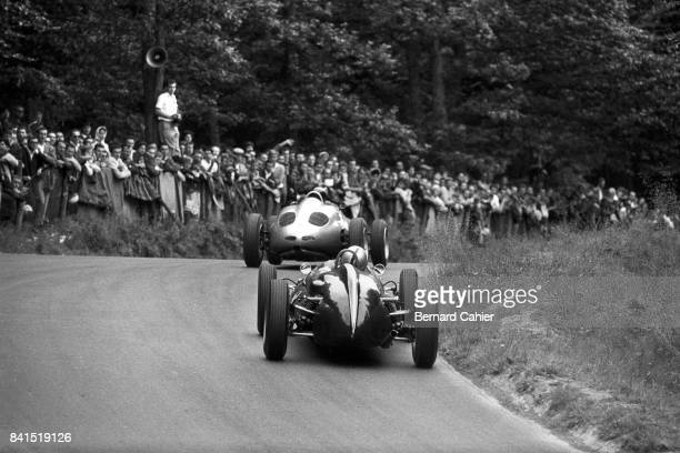 Bruce McLaren Dan Gurney CooperClimax T55 Porsche 718/2 Grand Prix of Germany Nurburgring 06 August 1961