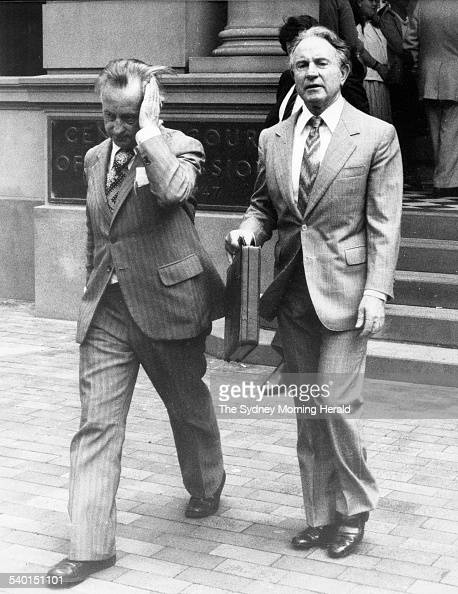 Bruce Miles Left Solicitor And Morgan John Ryan Right