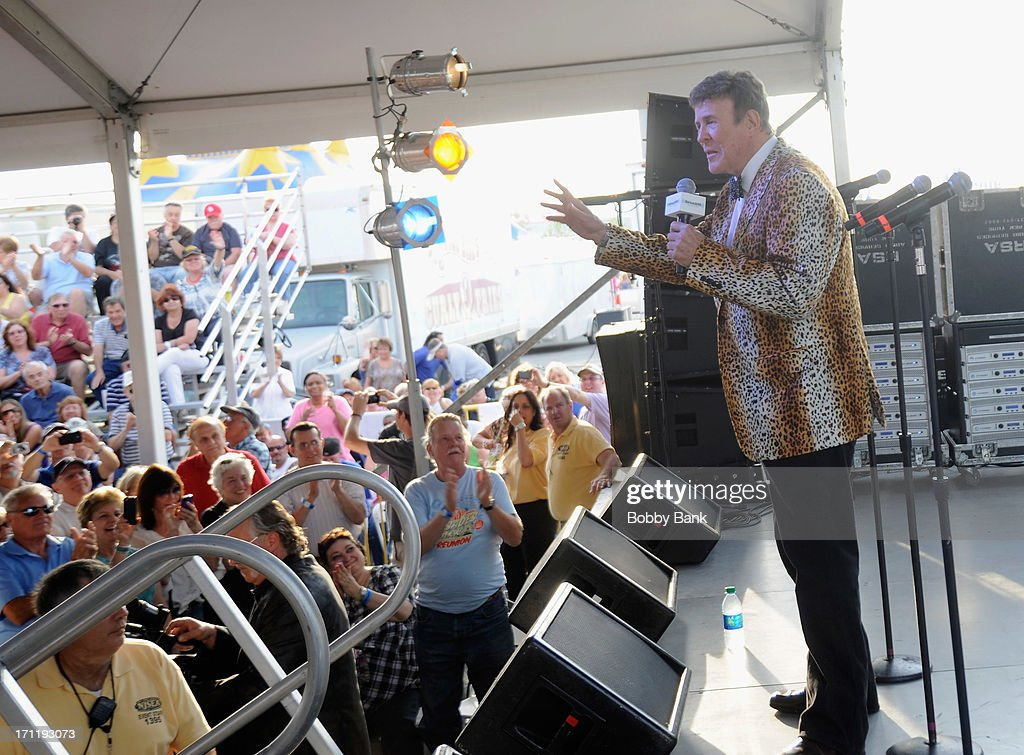 Bruce Morrow hosts the Cousin Brucie's First Annual Palisades Park Reunion Presented By SiriusXM at State Fair Meadowlands on June 22, 2013 in East Rutherford, New Jersey.