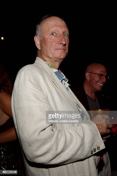 Bruce Nauman attend the Bruce Nauman dinner party hosted by Missoni on the boat 'Timoteo' during the 2009 Venice Biennale on June 4 2009 in Venice...