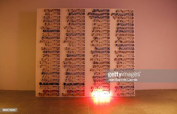Bruce Nauman's Display
