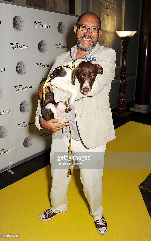 Bruce Oldfield attends the Dogs Trust Honours held at Home House on July 23, 2013 in London, England.