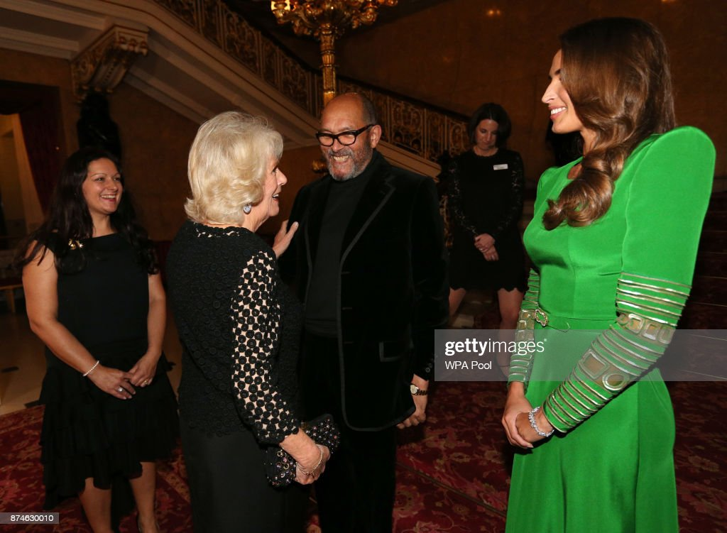 The Duchess Of Cornwall Attends The Bruce Oldfield Fashion Show In Aid Of The National Osteoporosis Society