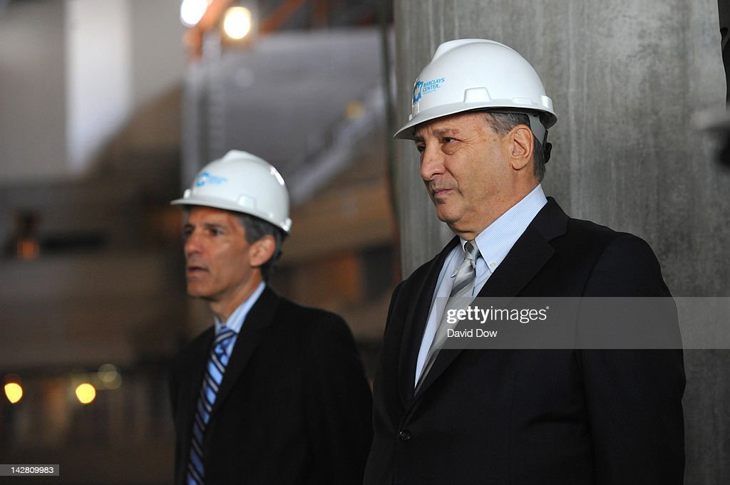 Bruce Ratner, Barclays Center Developer and Majority Owner at the Barclays Center on April 10, 2012 in Brooklyn, New York.