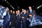 Bruce Ratner Barclays Center Developer and Majority Owner New York City Mayor Michael Bloomberg and Mikhail Prokhorov Brooklyn Nets Principal Owner...