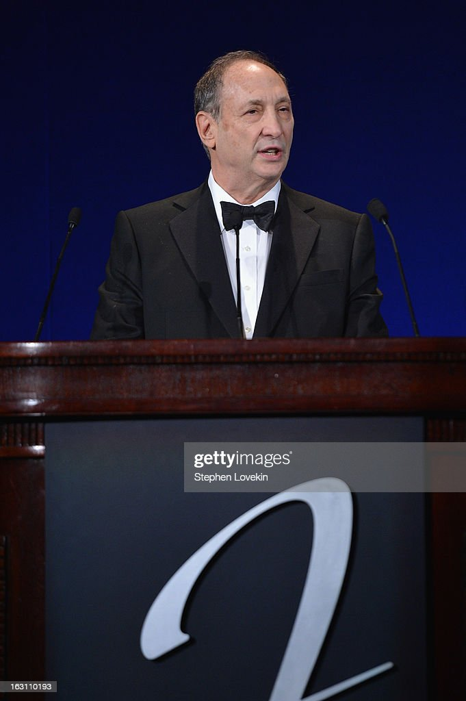 Bruce Ratner speaks onstage at the The Jackie Robinson Foundation Annual Awards' Dinner at the Waldorf Astoria Hotel on March 4, 2013 in New York City.