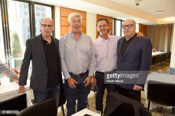Bruce Resnikoff CEO of Universal Music Enterprises Coran Capshaw founder of Red Light Management Joel Peresman President of the Rock and Roll Hall of...