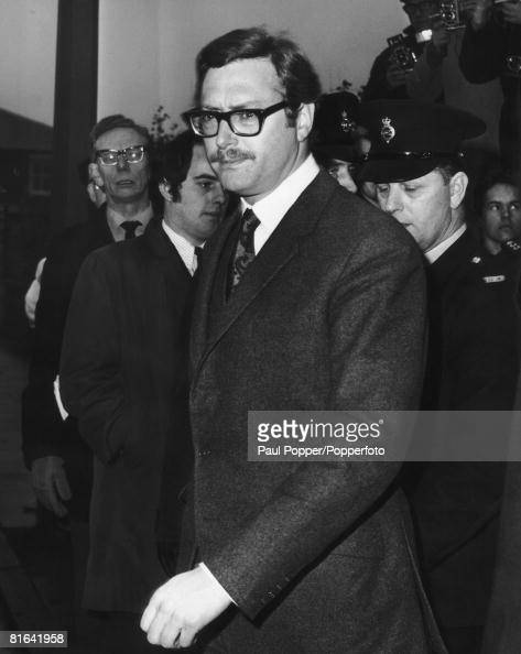 Bruce Reynolds leader of the gang which committed the 26 million pound 'Great Train Robbery' in August 1963 outside Linslade Court Buckinghamshire...