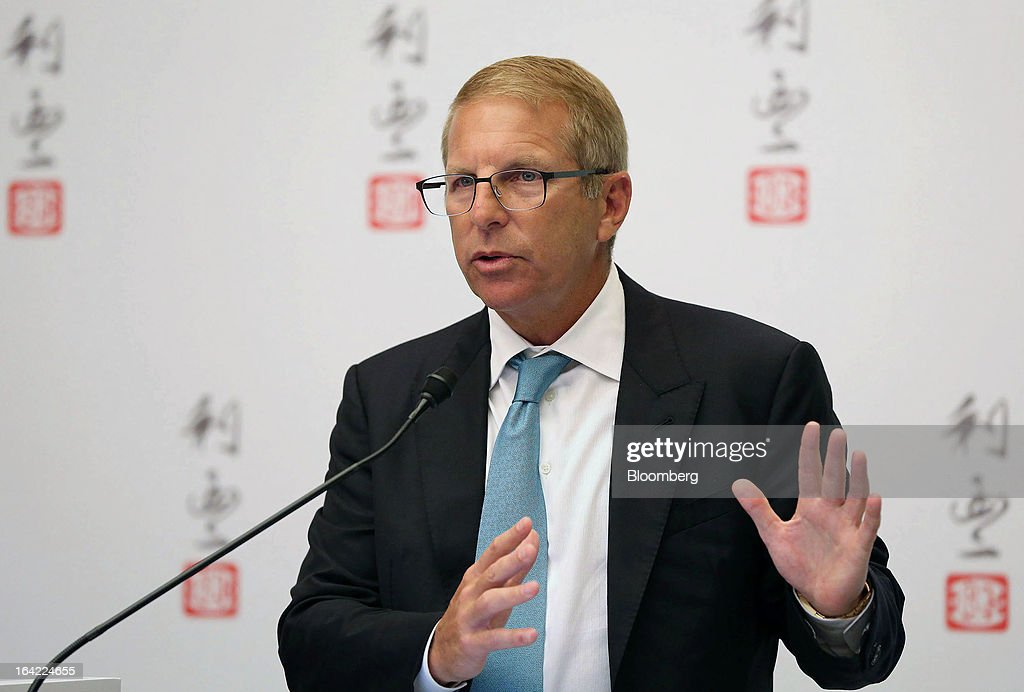 Bruce Rockowitz, chief executive officer of Li & Fung Ltd., speaks during a news conference in Hong Kong, China, on Thursday, March 21, 2013. Li & Fung will miss its target for profit in 2013 after net income fell for the first time in four years at the supplier to Wal-Mart Stores Inc. and Target Corp. Photographer: Jessica Hromas/Bloomberg via Getty Images