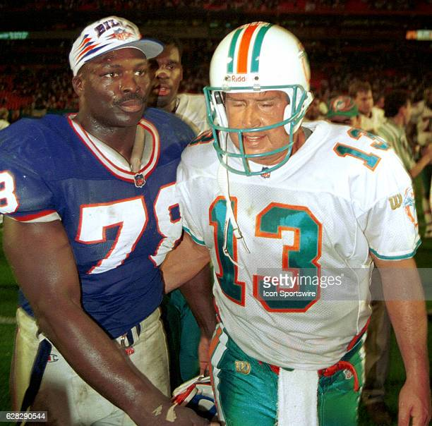 Bruce Smith Buffalo Bills and Dan Marino
