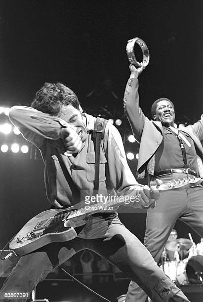Bruce Springsteen and Clarence Clemons 1981