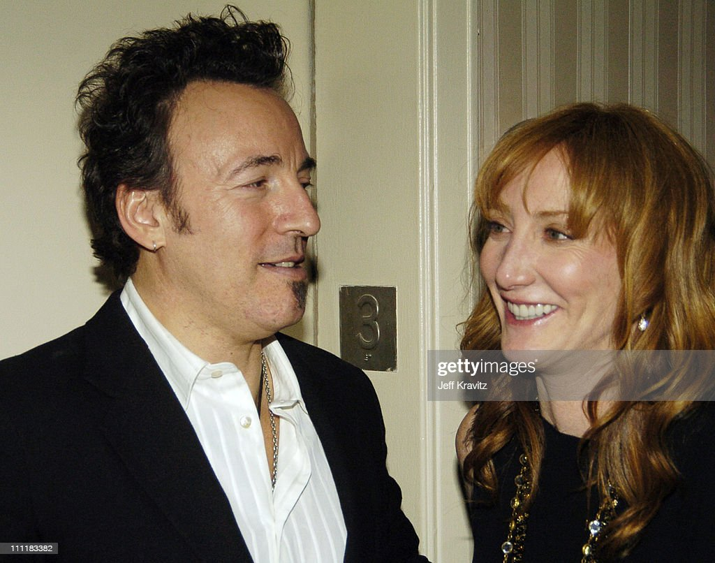 Bruce Springsteen and Patti Scialfa during 20th Annual Rock and Roll Hall of Fame Induction Ceremony - Audience and Backstage at Waldorf Astoria Hotel in New York City, New York, United States.