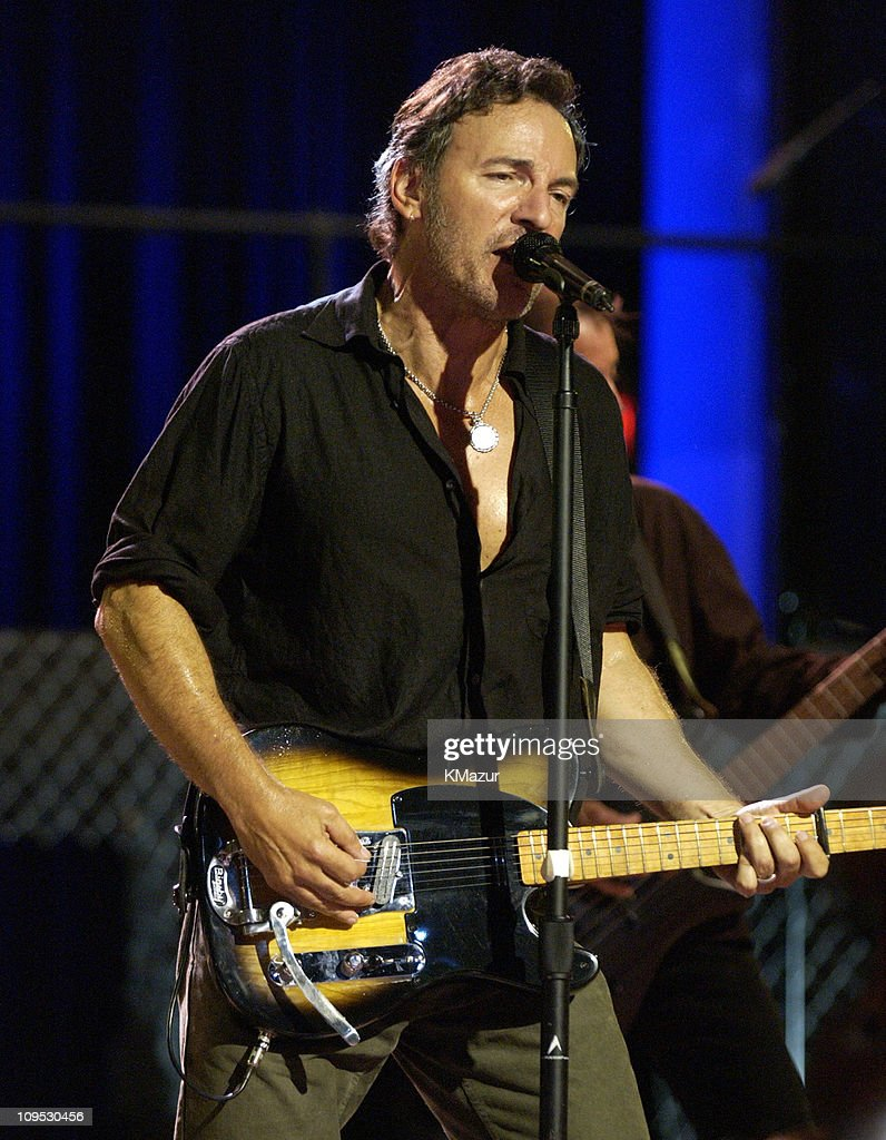 "Bruce Springsteen and the E Street Band Perform on the ""Today"" Show in Asbury Park - July 30, 2002"