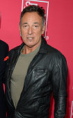 Bruce Springsteen attends MusiCares MAP Fund Benefit Concert at Best Buy Theater on May 28 2015 in New York City All proceeds from this concert will...