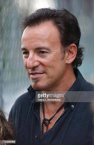 Bruce Springsteen during Little Steven's Underground Garage Festival Presented by Dunkin' Donuts Show August 14 2004 at Randall's Island in New York...