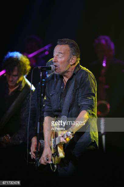 Bruce Springsteen joins his bandmate Steven Van Zandt when Little Steven and The Disciples of Soul perform during the 2017 Asbury Park Music and FIlm...