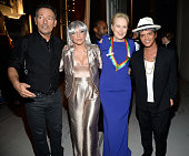 Bruce Springsteen Lady Gaga Meryl Streep and Bruno Mars attend the 37th Annual Kennedy Center Honors at The John F Kennedy Center for Performing Arts...