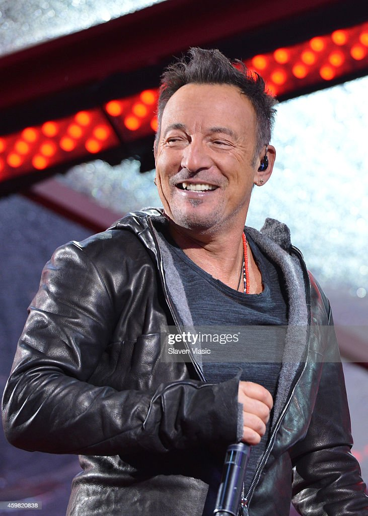Bruce Springsteen performs on World AIDS Day at 'A Thank You' presented by RED on December 1 2014 in New York City Photo by Slaven Vlasic/Getty...