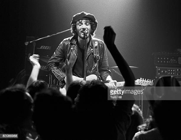 Bruce Springsteen performs at Alex Cooley's Electric Ballroom in Atlanta GA 1975