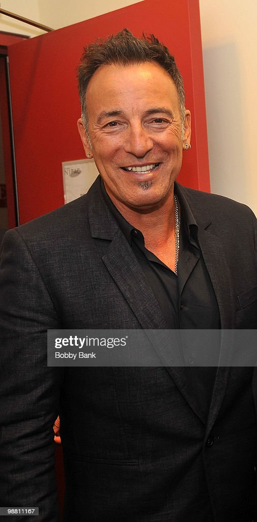 <a gi-track='captionPersonalityLinkClicked' href=/galleries/search?phrase=Bruce+Springsteen&family=editorial&specificpeople=123832 ng-click='$event.stopPropagation()'>Bruce Springsteen</a> poses backstage at the 3rd Annual New Jersey Hall of Fame Induction Ceremony at the New Jersey Performing Arts Center on May 2, 2010 in Newark, New Jersey.
