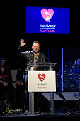 Bruce Springsteen speaks onstage during MusiCares MAP Fund Benefit Concert at Best Buy Theater on May 28 2015 in New York City All proceeds from this...