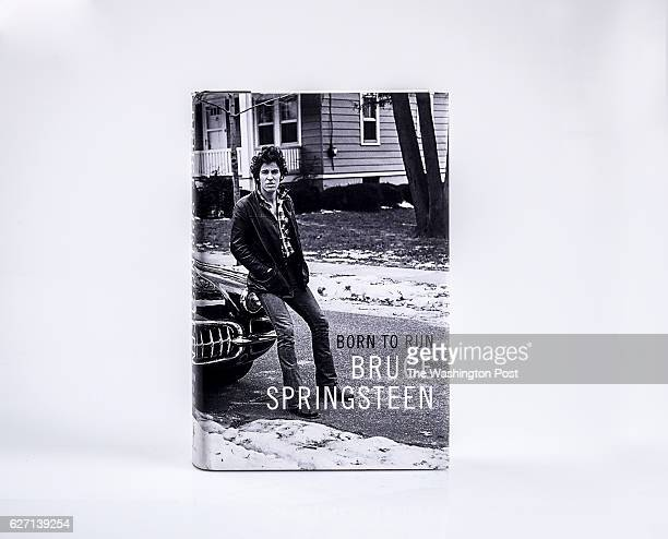 Bruce Springsteen's Born to Run for Book World's interactive presentation of several of our gift guides on October 2016 in Washington DC