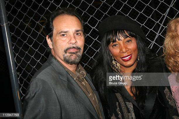 Bruce Sudano and wife Donna Summer during Donna Summer Meets Broadway's 'Jersey Boys' November 16 2005 at The August Wilson Theater in New York City...