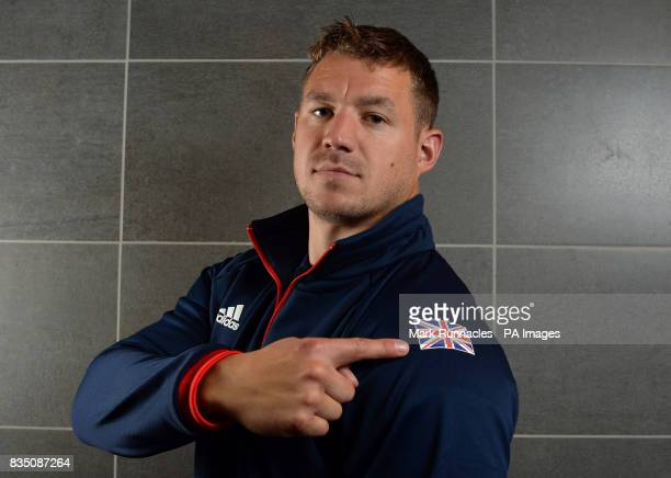 Bruce Tasker during the PyeongChang 2018 Olympic Winter Games photocall at Heriot Watt University Oriam PRESS ASSOCIATION Photo Picture date Friday...
