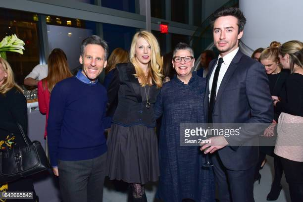 Bruce Teitelbaum Dana Kline Sally Skidmore and Justin Welch attend The Fragrance Foundation The Notables at LVMH Tower Magic Room on February 16 2017...