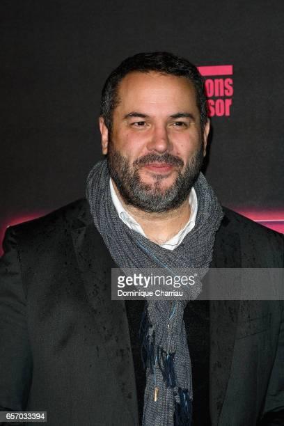Bruce Toussaint attends the 'Gangsterdam' Paris Premiere at Le Grand Rex on March 23 2017 in Paris France