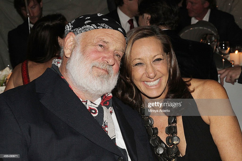 Bruce Webber and Donna Karan attend the ACRIA annual holiday dinner benefiting AIDS research on December 11, 2013 in New York, United States.