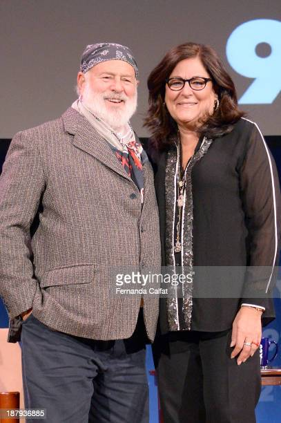 Bruce Weber and Fern Mallis at Fashion Icons with Fern Mallis at the 92nd Street Y on November 13 2013 in New York City