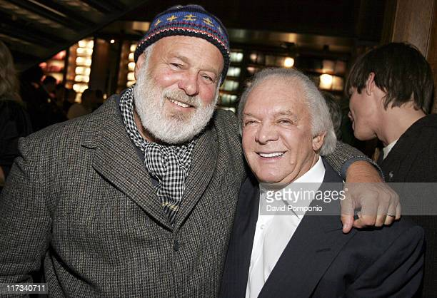 Bruce Weber and Marty Richard during Abercrombie Fitch Store Opening on 5th Avenue in New York City at A F 5th Avenue in New York City New York...