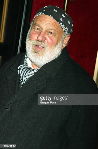 Bruce Weber during 'The Phantom of the Opera' New York Premiere Inside Arrivals at Ziegfield Theater in New York City New York United States
