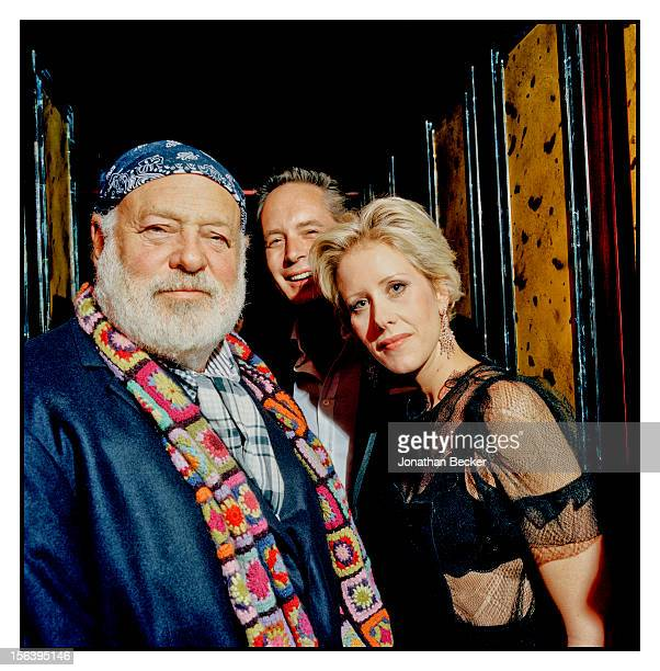 Bruce Weber Hugh Warrender and Elizabeth Esteve are photographed at 5 Hertford Street which is home to the nightclub Loulou's for Vanity Fair...