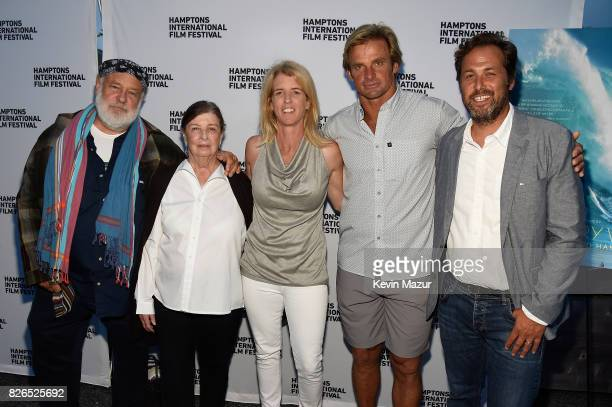 Bruce Weber Nan Bush Rory Kennedy Laird Hamilton and Mark Bailey attend The Hamptons International Film Festival SummerDocs Series Screening of TAKE...