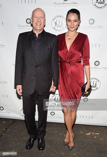 Bruce Willis and Emma Heming attend the 13th Annual A Great Night In Harlem Gala Benefiting The Jazz Musicians Emergency Fund at The Apollo Theater...